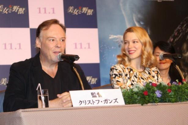 土曜日に松本零士と会えるのがとても楽しみだと言うクリストフ・ガンズ監督