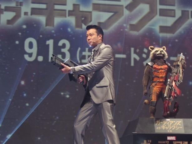 加藤浩次は銃を撃つアクションを披露するが銃撃音が鳴らないハプニング