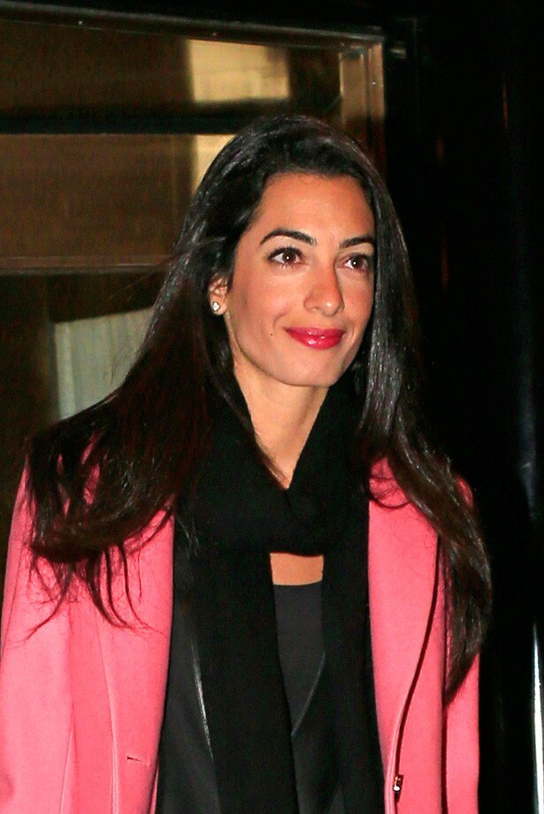 ジョージと婚約した美人英国人弁護士アマル・アラムディン