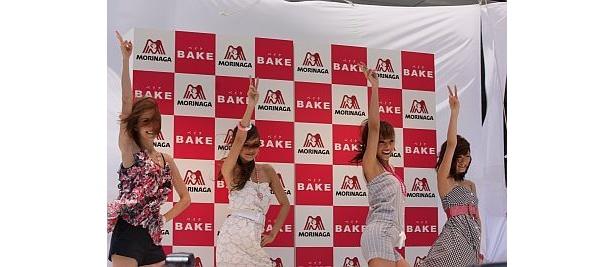 タイでの撮影以来の「BAKEダンス」