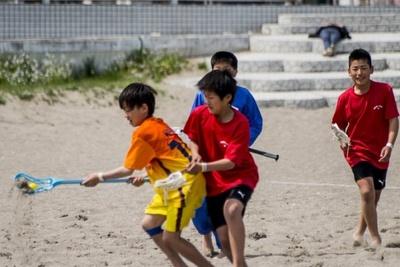 「ビーチスポーツ&納涼フェスタ2014」で話題のビーチスポーツを体験しよう