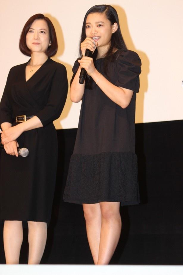 【写真を見る】CMで話題の美少女・杉咲花も笑顔で登壇