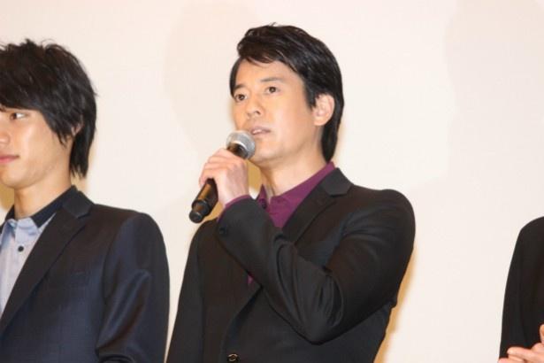 ベテランスーツアクター・本城渉役の唐沢寿明