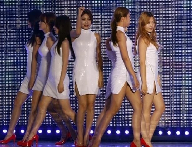 日本デビューが決定している、韓国ガールズグループ・AOA