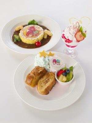 「キキ&ララ×ケアベア カフェ@スイーツパラダイス」に限定コラボメニューが登場!