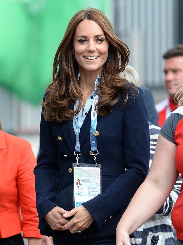 【写真を見る】しかし、ジョージ王子を妊娠していた時と同様に妊娠悪阻に
