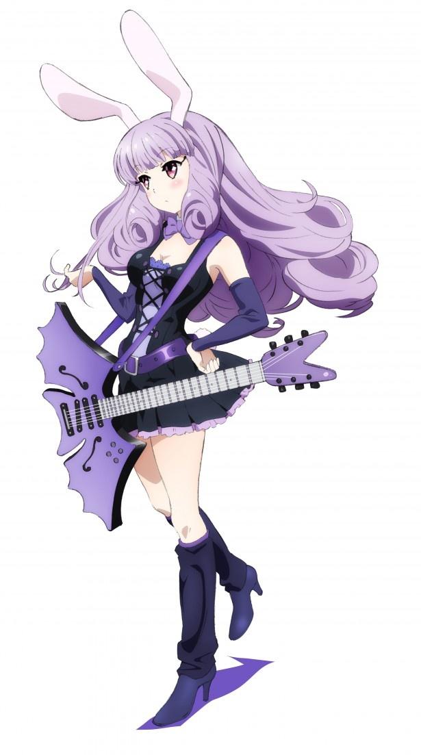 ボーカル&ギターのChuchu(チュチュ)。優等生タイプで、バンドのリーダー的存在
