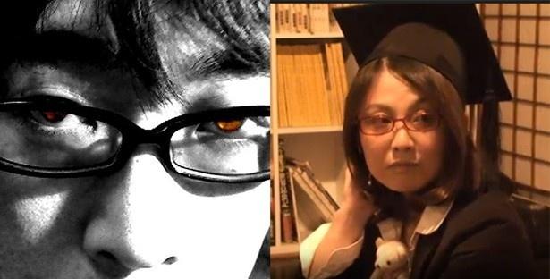 左から山本慎太郎氏(念波・博士[理学])、永田夏来氏(さにはに・博士[人間科学・早稲田大学])