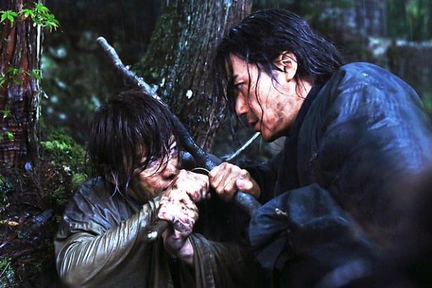 福山雅治が緋村剣心の師匠、比古清十郎役を演じる