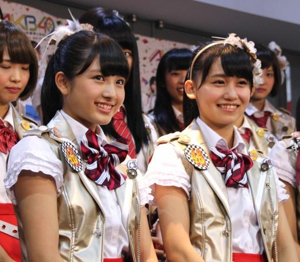 Wキャストでヒロインを演じる大和田南那と小嶋真子(写真左から)