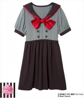 火野レイ(私立T.A女学院)のセーラームーンなりきり制服ワンピ