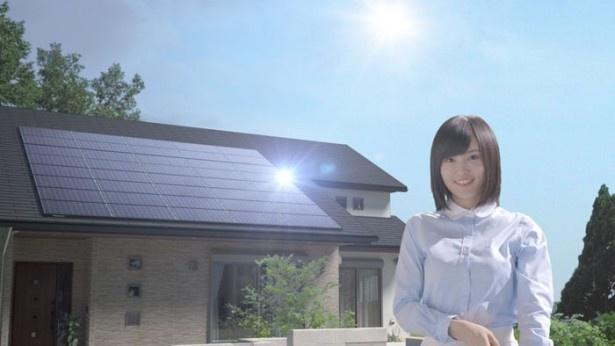 パナソニック 太陽光発電システム新CMに出演するNMB48の山本彩