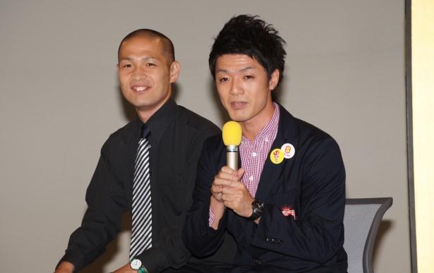 【写真を見る】大阪予選から進出し「必ず優勝して日本放送協会を乗っ取りたい」と意気込んだアイロンヘッド
