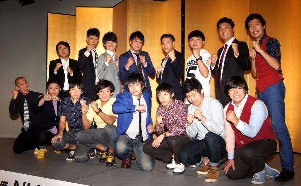 10月26日(日)にNHK総合で生放送される「NHK新人お笑い大賞」の本選に出場する8組の芸人たち