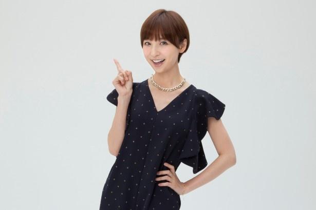 これが民放レギュラー初MCとなる篠田は「すごく緊張していますし、不安もあるんですが、関根さんがいてくださるので安心です」と笑顔に!