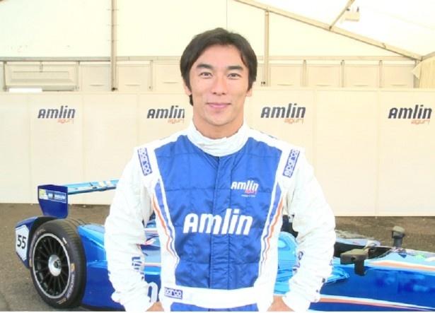フォーミュラEに「アムリン・アグリ・フォーミュラEチーム」ドライバーとして参戦する佐藤琢磨