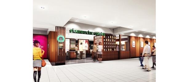 """""""ブラックエプロン""""のバリスタがそろう「スターバックス コーヒー 新宿マルイ本館2階店」が誕生する"""