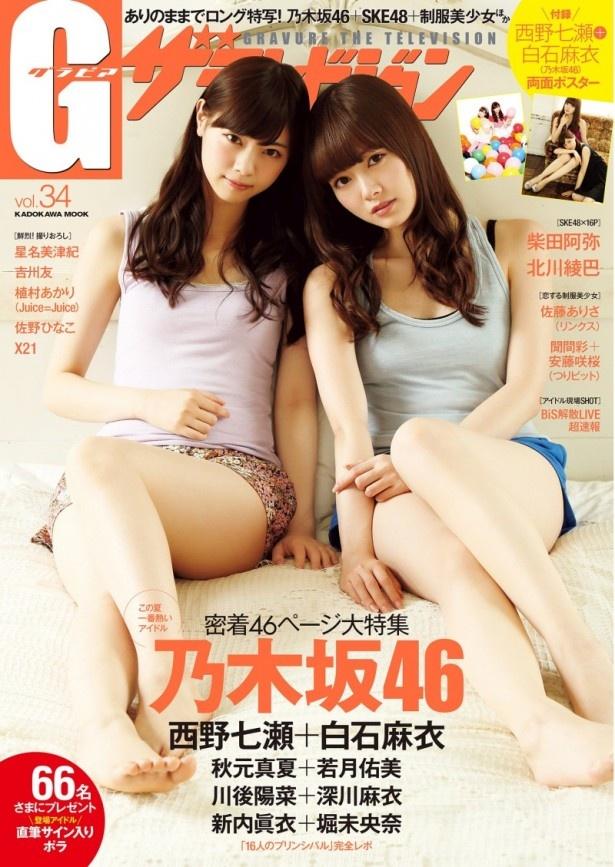 柴田のグラビアとインタビューが8ページに渡って掲載されている「グラビアザテレビジョンvol.34」
