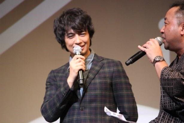 斎藤工は自身の監督作の短編『バランサー』の監督としても参加