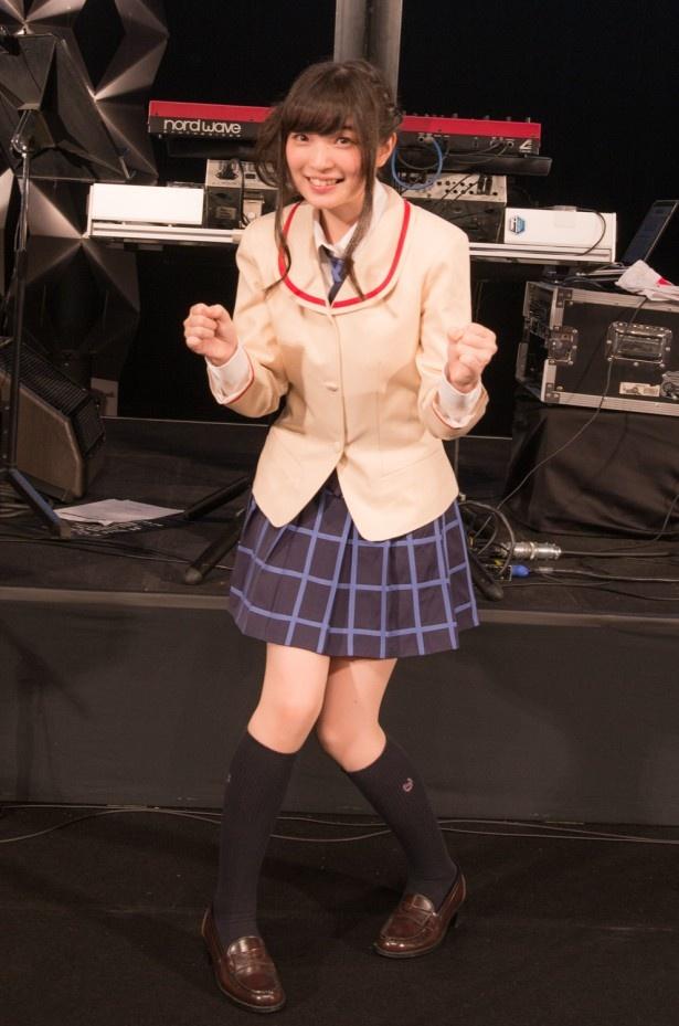 上田はゲーム「THE IDOLM@STER MILLION LIVE!」にも高坂海美役で出演。特技はイラストを描くこと