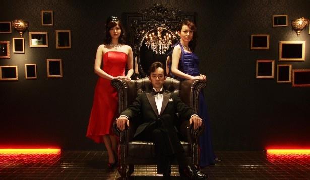 ダンディーに決める段田と美幸(森口瑤子)、南の女性陣