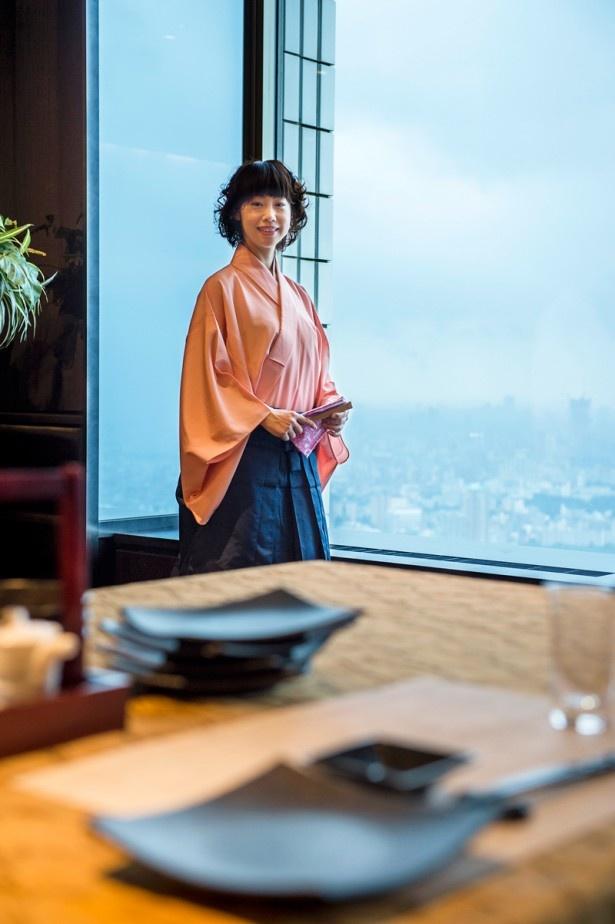 """サンシャイン60ビル(東京・豊島区)の59階にある「天空の庭 星のなる木」は""""伝統×革新""""がテーマのオリジナリティ溢れる懐石和食を展開"""