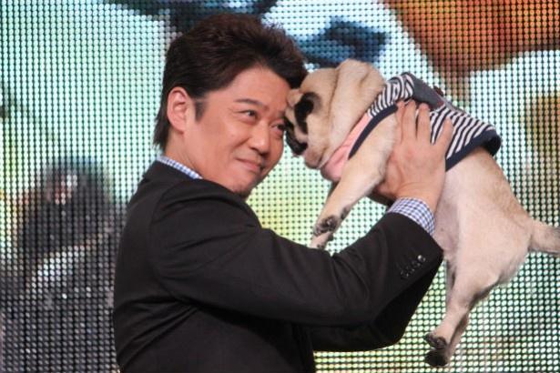 坂上忍、愛犬・森田パグゾウと『猿の惑星』ごっこ