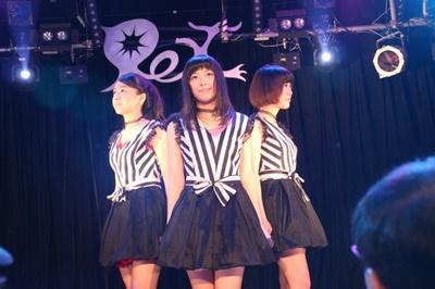 9月7日、SHIBUYA Rexにて「PASTEL CALLA(パステルカラー)」の完全招待制の初単独プレライブが行われた