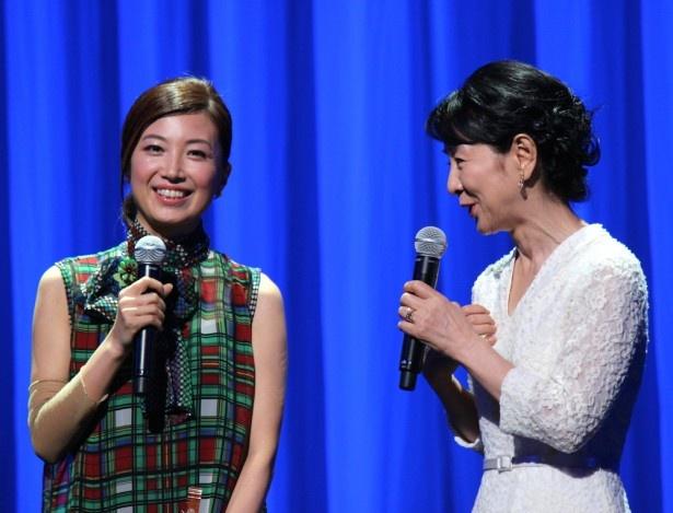 村治佳織がステージに復活!吉永小百合に感謝の言葉を述べた