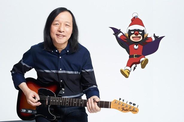 30年ぶりの音楽監修となる山下達郎とデビクロくん!