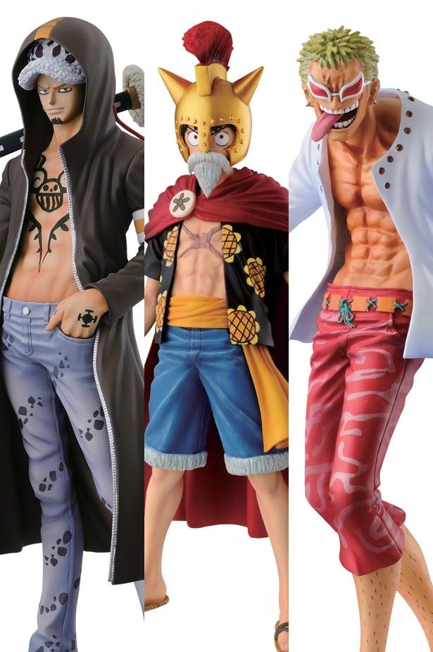 コミックスでも激闘をくり広げている3人がリアルなフィギュアになって登場!