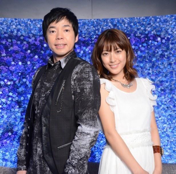 新MCに就任することとなった瀧本美織(右)と今田耕司(左)
