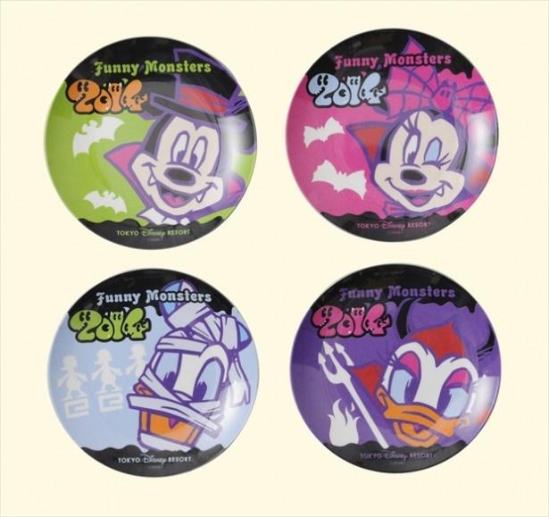 ミッキーマウスたちがモンスターの仮装をしたシリーズ