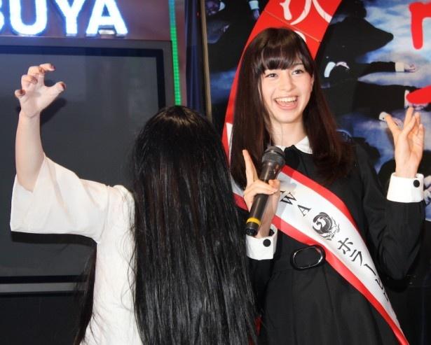 貞子、「怖かった!」と美少女ホラーヒロインに完敗宣言!