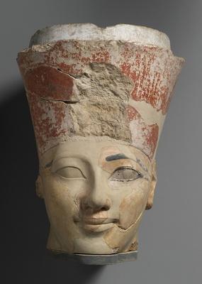 「ハトシェプスト女王像の頭部」