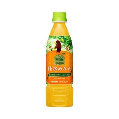 果汁20%使用、爽やかな酸味と香りを感じられる「小岩井 純水みかん」(ペットボトル)(470ml 希望小売価格・税別140円)