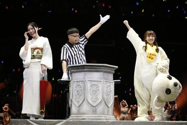 前回の覇者、松井珠理奈を破った小谷里歩は、準々決勝で渡辺美優紀に敗退