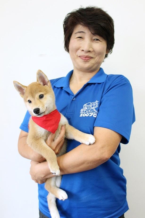 シリーズすべての作品に動物トレーナーとして参加しているZOOプロの北村まゆみ氏