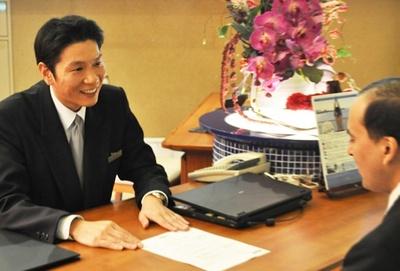 成功率100%のプロポーズプランを支えてきた宿泊部支配人の福岡孝治さん