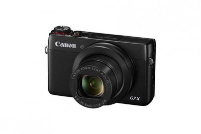 2014 年10月3日(金)発売予定のコンパクトデジタルカメラ「PowerShot G7 X」(6万6800円※キヤノンオンラインショップ価格)