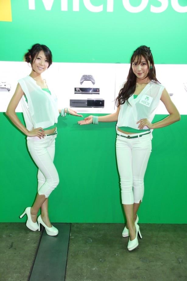 日本マイクロソフトのコンパニオン