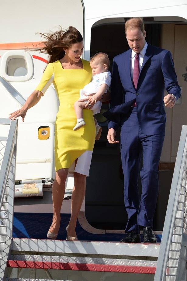 ジョージ王子誕生後も忙しくしていたキャサリン妃だったが