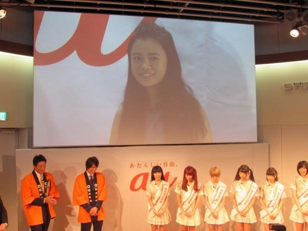 杉咲花は大阪会場に参加。ちょっと緊張気味?