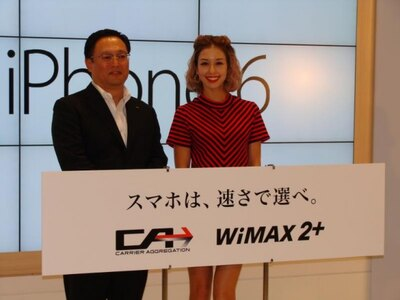 KDDI株式会社コンシューマ九州支社長の江口さんとゲストのBENIさん