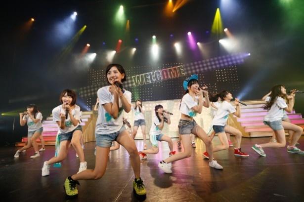 4thシングル「控えめI love you!」では兒玉遥(写真中央)がセンターで熱唱!