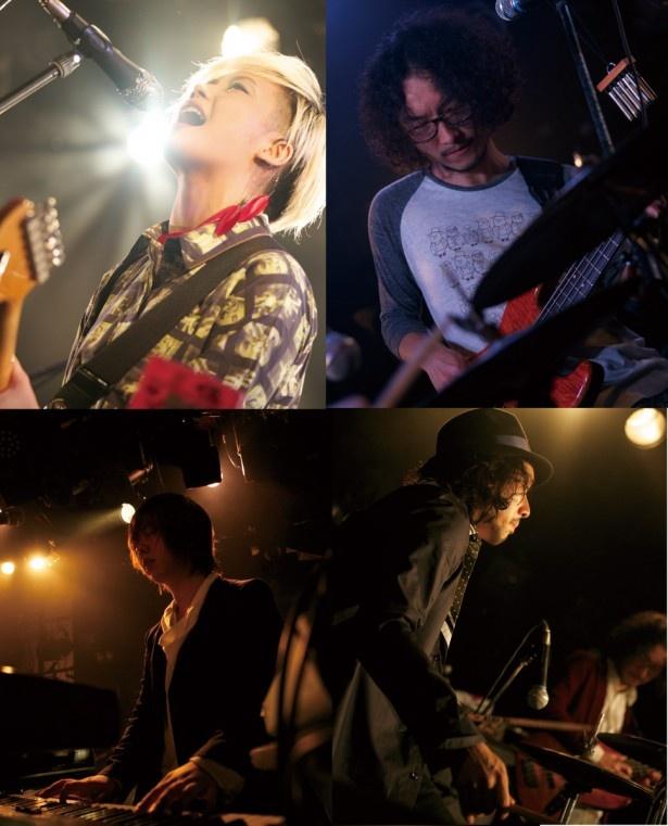 ドラマ「玉川区役所 OF THE DEAD」のエンディングテーマを担当することになったFLOWER FLOWER