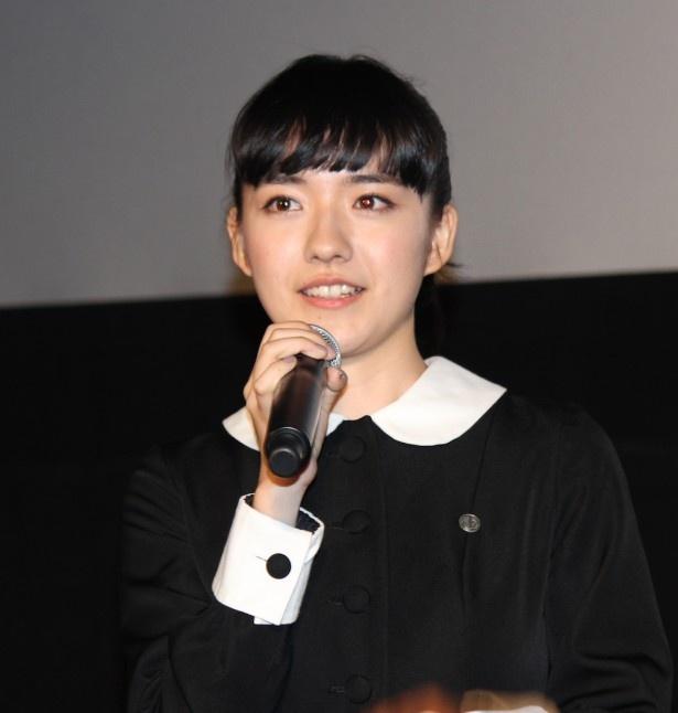 小島藤子も嬉しそうな笑顔を見せていた