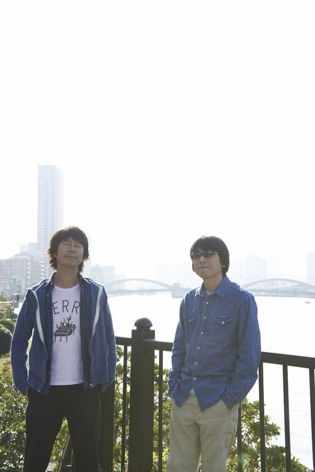 「おはスタ」の新テーマソング「あいだにダイア」を担当し、9月25日(木)に同番組で生ライブを披露する真心ブラザーズ