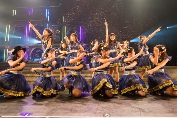 2014年9月19日、なら100年会館で開催されたNMB48・チームB2公演。