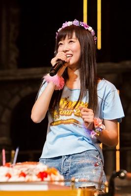 コンサート当日は、みるきー21歳の誕生日!バースデーケーキも登場!